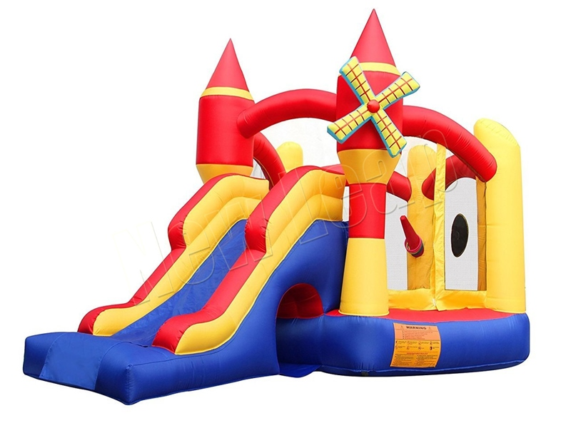 jumping inflatable bouncer slide