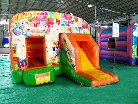 happy time inflatable castle