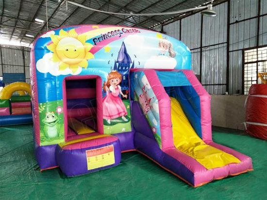 Princess inflatable castle