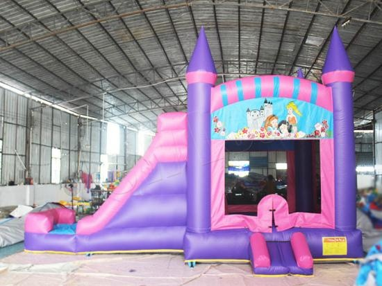Girl Princess Pink Kids Bouncy Castle