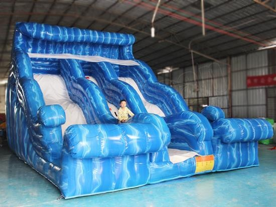giant inflatable double slide