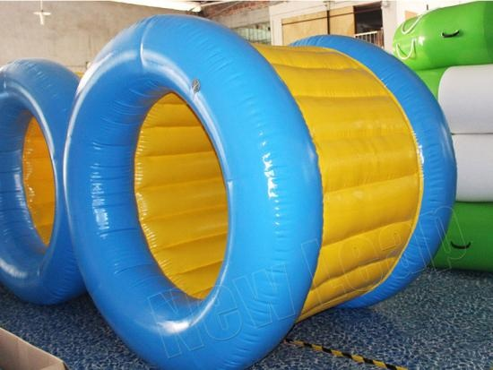 Inflatable water rollers