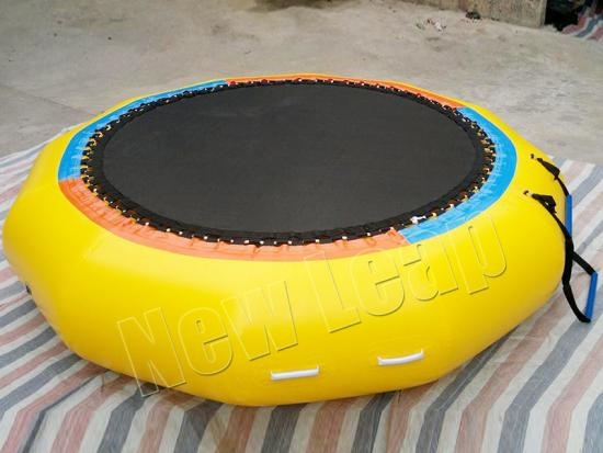 cheap Floating Inflatable Water Trampoline Bouncer for Lake Pool