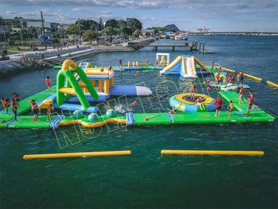 TUV inflatable water park