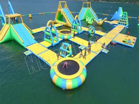 inflatable water park  for summer water games