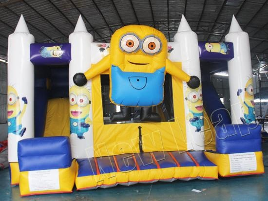 Minions inflatable castle