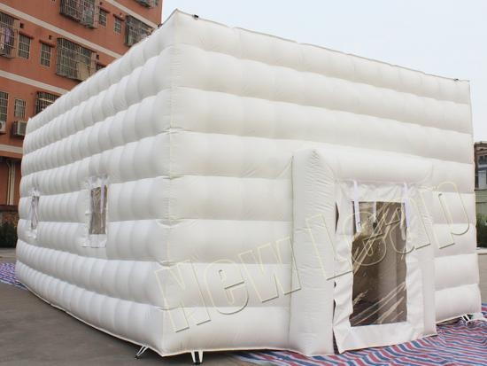 cheap Advertising Inflatable White Wedding Cube Party Tent