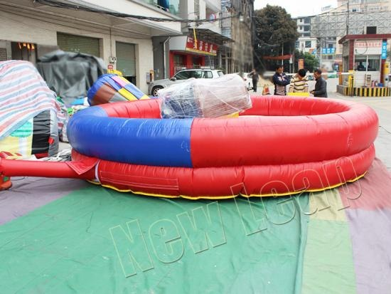 inflatable mechanical bull