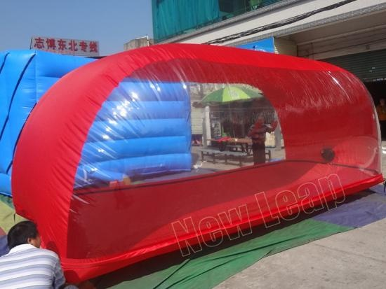 inflatable car capsule
