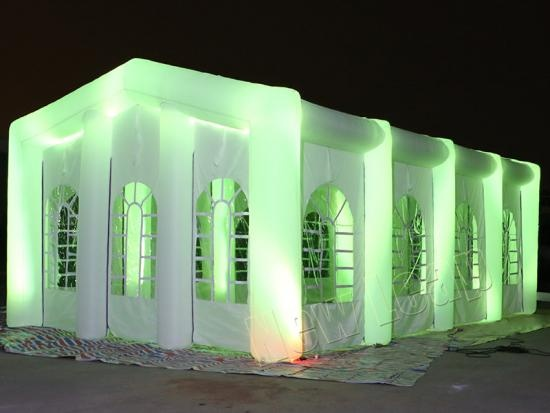 inflatable led lighting tent