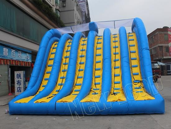 inflatable obstacle race