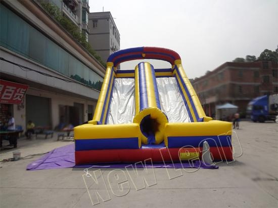 inflatable dual slide