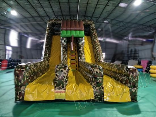 army inflatable slide