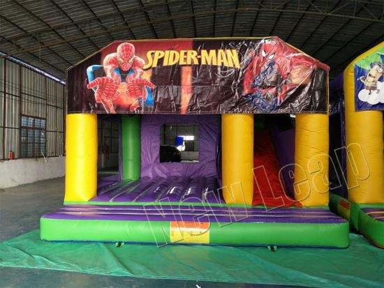 spiderman Inflatable Castle