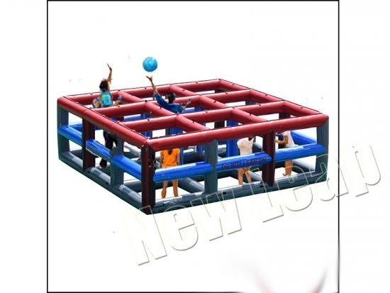 cheap 9-Square Volleyball Inflatable Sports Game