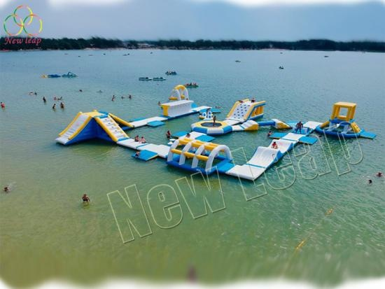 wake island inflatable water park