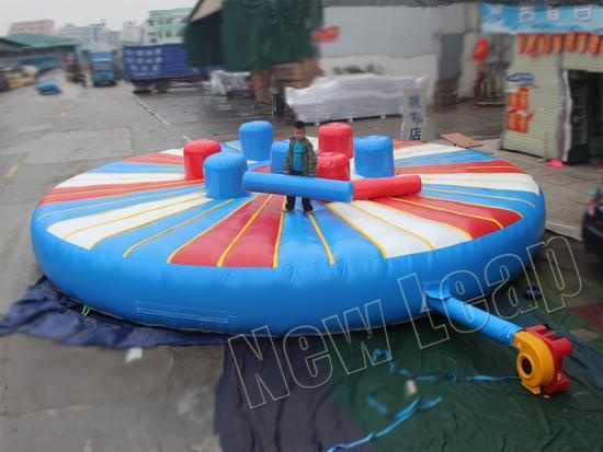 gladiator joust chanllenge inflatable game