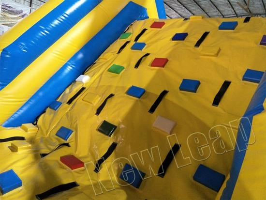 inflatable obstacle running