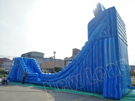 inflatable zip line game