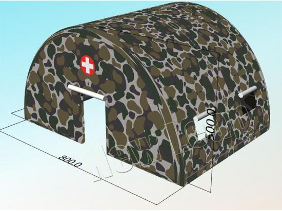 inflatable military army tent