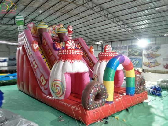 candy slide inflatables
