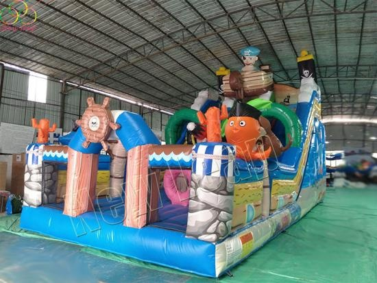 commercial inflatable pirate ship