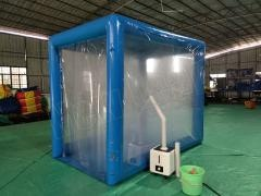 inflatable disinfection channel tent