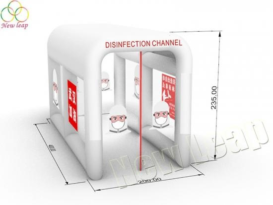 inflatable disinfection chamber