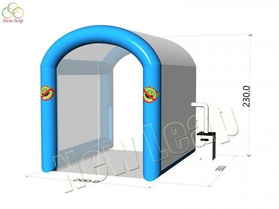 inflatable disinfection house