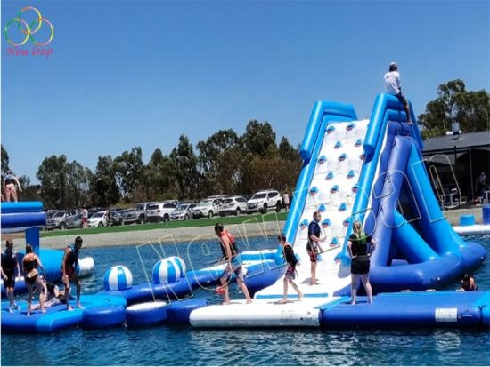 adult inflatable sport game for sea
