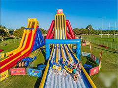 Inflatable waterslides – with something that's perfect for all ages and all thrill levels!